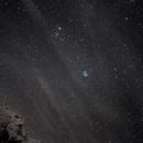 Pleiadi over Alps,                                Paolo Manicardi