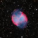 M27 - Dumbbell Nebula,                                Almos Balasi