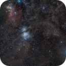 Dust clouds and nebulae in Orion,                                Jan Veleba