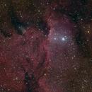 NGC 6188 LRGB,                                Robert Schumann
