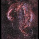 Veil Nebula unveiled,                                Metsavainio