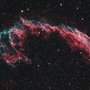 NGC 6992 - Eastern Veil Nebula - HOO,                                Greg Polanski