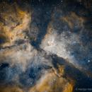 Eta Carinae Nebula NarrowBand,                                Héctor Henríquez Leighton