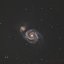 M51-Galaxie-final,                                Christian Dahm