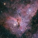 The Keyhole Nebula,                                capella_ben
