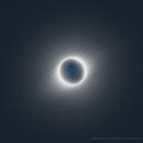 Sun's corona, 2nd July 2019 total solar eclipse,                                Vincent Bchm