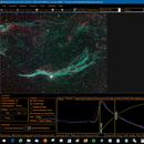 Western Veil SharpCap live stacking screen shot,                                Robin Clark - EAA imager