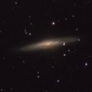 NGC 2683, The UFO Galaxy,                                Mark L Mitchell