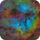 Elephant Trunk Nebula in SHO-LRGB,                                equinoxx