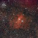 NGC7635 RGB,                                Ian Aiken