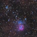 Messier 20,                                dkamen