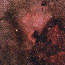 "NGC7000 ""North America Nebula"" with 135mm CZJ F/3.5,                                Norbert Reuschl"