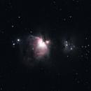 Orion Nebula M42 28-29.2.2020,                                PepeAstro