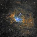 Bubble Nebula in Hubble Palette,                                avarakin