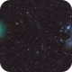 Comet Wirtanan and Pleiades (May 2019 astronomy mag),                                Mirko M