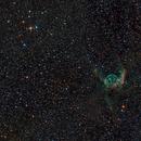 NGC 2359 - Thor's Helmet,                                Frank Breslawski