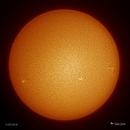 Active Solar Disk - 5/25/18,                                Damien Cannane