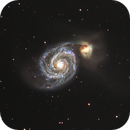 The Whirlpool Galaxy (M51),                                Olivier Ravayrol