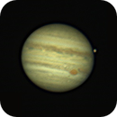 Jupiter Planet and Ganimede,                                Geovandro Nobre