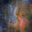 DWB111 (Propeller Nebula)  T250 f/4  /  ATIK ONE  /  AZEQ6,                                Pulsar59