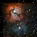 M 20 - Trifid Nebula,                                André Wiget