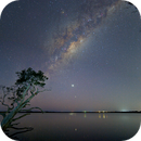 Lake Weyba Nightscape,                                Peter Pat