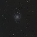 M74 - Galaxia del Abanico,                                Luis Martinez
