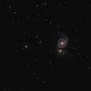 M51 (NGC 5194): The RedCat's Hunting Galaxies,                                Daniel Erickson
