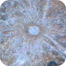 Tycho crater during Full Moon,                                Łukasz Sujka