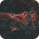 Pickering's Triangle - part of the Veil Nebula complex,                                Salvo Lauricella