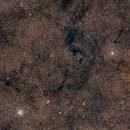 M11 (Wild Duck Cluster) & Barnard 104-119 Dark Nebulae,                                David F