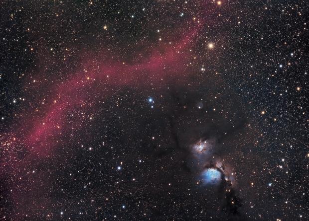 M78 & Barnard's Loop,                                RobinD