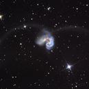 Antennae Galaxies NGC4038 & NGC4039,                                Hojong Lin
