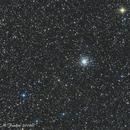 Messier 56 globular cluster,                                Fenton