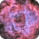 NGC2244 in HOO zoom (new process),                                Georges