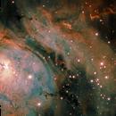 M8, The Lagoon Nebula (bicolor),                                Ruben Barbosa