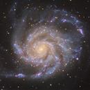 Messier 101: the Pinwheel Galaxy,                                Stephen_H