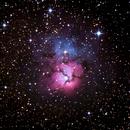 Trifid Nebula - Once Again,                                HaydenAstro(NZ)