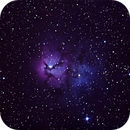 M20 Trifid Nebula,                                RCompassi