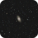 Messier 64, The Black Eye Galaxy,                                Mason Steidle