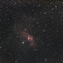 Nébuleuse de la Bulle et M52,                                Vincent R.