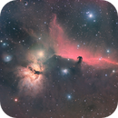 Horsehead/Flame Nebula HaRGB,                                John Kroon