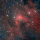 Cave Nebula - my first HOO,                                Maurizio Berti