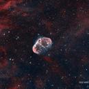 Crescent nebula,                                Crisan Sorin