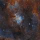 IC1805 - the Heart Nebula,                                Marc
