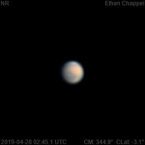 Mars | 2019-04-28 2:45 | RGB,                                Chappel Astro