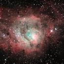 M8 Lagoon Nebula,                                Arturo Merchán