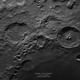 Cráteres Catharina Cyrillus y Theophilus desde Lima, Perú,                                Guillermo Spiers