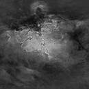 Eagle nebula, M16 in Ha,                                Matt Hughes