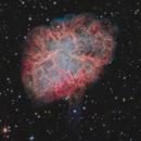 M1 - Crab nebula - 2018,                                alexbb